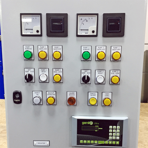 pulsar control panel